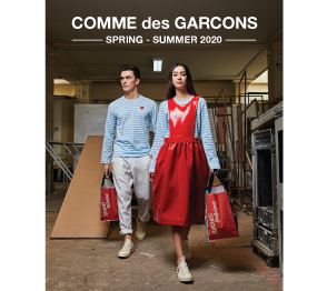 COMME des GARCONS SS2020 Lookbook Behind the scenes